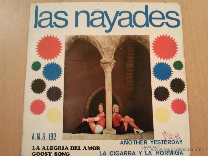 LAS NAYADES LA ALEGRIA DEL AMOR ANOTHER YESTERDAY + 2 EP (Música - Discos de Vinilo - EPs - Grupos Españoles de los 70 y 80)