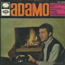 Discos de vinilo: ADAMO EP SELLO LA VOZ DE SU AMO . Lote 41248936