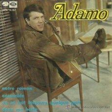 Discos de vinilo: ADAMO EP SELLO LA VOZ DE SU AMO AÑO 1967. Lote 41248964