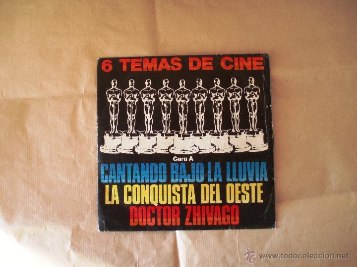 TEMAS DE CINE - LAS ESTRELLAS (Música - Discos de Vinilo - EPs - Bandas Sonoras y Actores)
