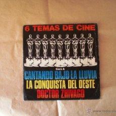 Discos de vinilo: TEMAS DE CINE - LAS ESTRELLAS. Lote 41253567