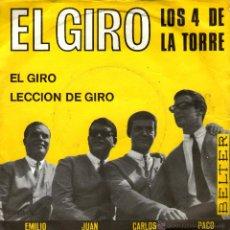 Disques de vinyle: LOS 4 DE LA TORRE EL GRITO. Lote 41256013