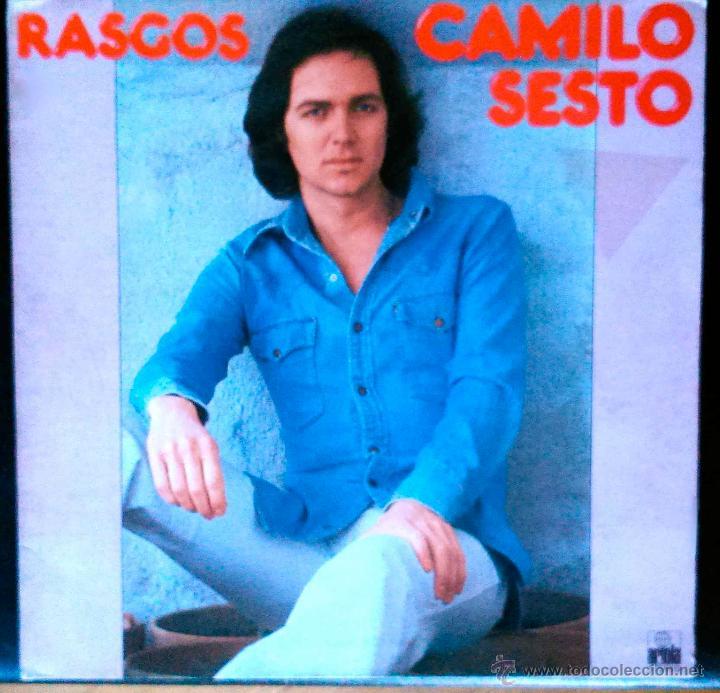 CAMILO SESTO, RASGOS - LP PORTADA ABIERTA (Música - Discos - LP Vinilo - Solistas Españoles de los 70 a la actualidad)