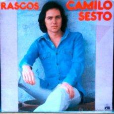 Discos de vinilo: CAMILO SESTO, RASGOS - LP PORTADA ABIERTA. Lote 41257296