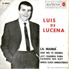 Dischi in vinile: LUIS DE LUCENA LA MAMA. Lote 41262533