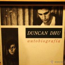 Discos de vinilo: DUNCAN DHU AUTOBIOGRAFIA, DOBLE PORTADA, DOBLE LP. Lote 41263008