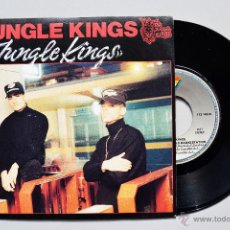 Discos de vinilo: JUNGLE KINGS - JUNGLE KINGS (SINGLE 1990 ARIOLA) ESPAÑA. Lote 246010355