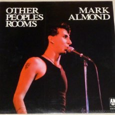 Discos de vinilo: MARK ALMOND - OTHER PEOPLES ROOMS. Lote 41269755