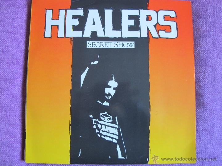 LP - HEALERS - SECRET SHOW (GERMANY, RATTLESNAKE RECORDS 1990) (Música - Discos - LP Vinilo - Heavy - Metal)