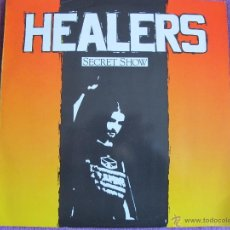 Discos de vinilo: LP - HEALERS - SECRET SHOW (GERMANY, RATTLESNAKE RECORDS 1990). Lote 41270275