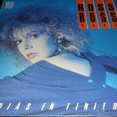 Discos de vinilo: ROSS - 15 DIAS DE TINIEBLAS / MUNDO MUERTO - MAXISINGLE 1985. Lote 41270805