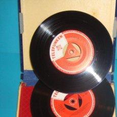 Discos de vinilo: FLAMENCO TELEFUNKEN 1958 PEDRO DEL VALLE (PERICO EL DEL LUNAR) Y PERICON DE CADIZ. Lote 41271251