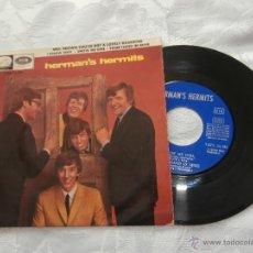 Discos de vinilo: HERMAN´S HERMITS 7´EP MRS.BROWN YOU´VE GOT A LOVELY DAUGHTER + 3 (1965) ED.ESPAÑA-BUEN ESTADO. Lote 41271646