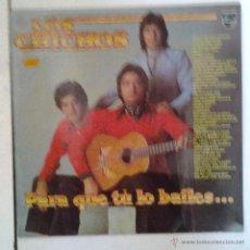 Discos de vinilo: LOS CHICHOS , PARA QUE TU LO BAILES , LP VINILO. Lote 41272051
