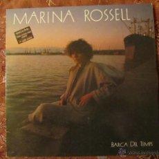 Discos de vinil: LP DE VINILO DE MARINA ROSSELL-TITULO BARCA DEL TEMPS-ORIGINAL DEL 85-¡¡¡NUEVO A ESTRENAR¡¡¡. Lote 41275511
