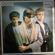 Discos de vinilo: DOGS - DIFFERENT - LP 1979 - REEDICIÓN DE MARILYN EN 1986. EX/EX. Lote 175440653