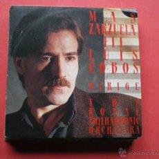 Discos de vinilo: LUIS COBOS / MAS ZARZUELA SINGLE. Lote 41279274