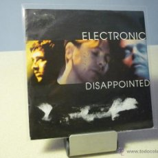 Discos de vinilo: ELECTRONIC DISAPPOINTED SINGLE . Lote 41280122