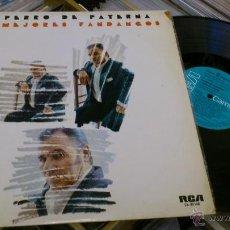 Discos de vinilo: EL PERRO DE PATERNA MIS MEJORES FANDANGOS LP RCA DISCO DE VINILO . Lote 41288639