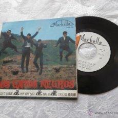 Discos de vinilo: LOS GATOS NEGROS 7´EP ELLA TE QUIERE + PARA TI (COVER SPANISH BEATLES) + 2 TEMAS (1964). Lote 41289236
