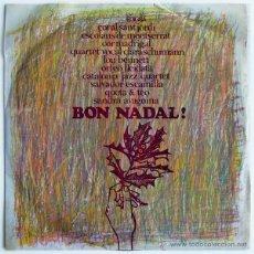Discos de vinilo: LOU BENNETT + CATALONIA JAZZ QUARTET... - BON NADAL! - LP SPAIN 1966 - EDIGSA CM 143L. Lote 41289933