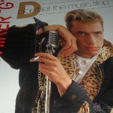 Discos de vinilo: MC MIKER G - DON'T LET THE MUSIC STOP . Lote 41291008