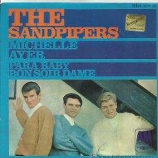 Discos de vinilo: THE SANDPIPERS EP SELLO AM RECORD AÑO 1967. Lote 41294125