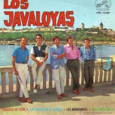Discos de vinilo: JAVALOYAS, EP, PARADISE OF LOVE + 3, AÑO 1964. Lote 41297159
