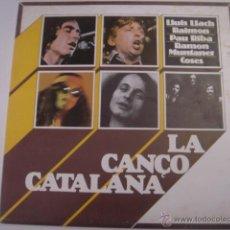 Discos de vinilo: LP. LA CANÇÓ CATALANA. LLUÍS LLACH/RAIMON/PAU RIBA/RAMON MUNTANER/COSES. MOVIEPLAY. 1977. Lote 41297257