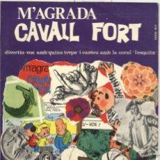 Discos de vinilo: CORAL ESQUITX. M'AGRADA CAVALL FORT. CONCÈNTRIC 1965. EP. BON ESTAT. Lote 41298398