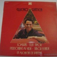 Discos de vinilo: LP. LUCHO GATICA. SOMBRAS/ELLA... CAUDAL. 1976. Lote 41300871