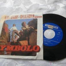 Discos de vinilo: SYMBOLO 7´SG OJOS NEGROS / HI-LILI, HI-LO (1970) BUENA CONDICION-PROCEDE DE EMISORA RADIO. Lote 41305528
