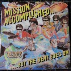 Discos de vinilo: THE REZILLOS - MISSION ACCOMPLISHED -. Lote 113454291