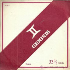 Discos de vinilo: ALBERTO CLOSAS LP SELLO ZAFIRO AÑO 1978.NARRA EL HOROSCOPO DEL SIGNO GEMINIS. Lote 41308730