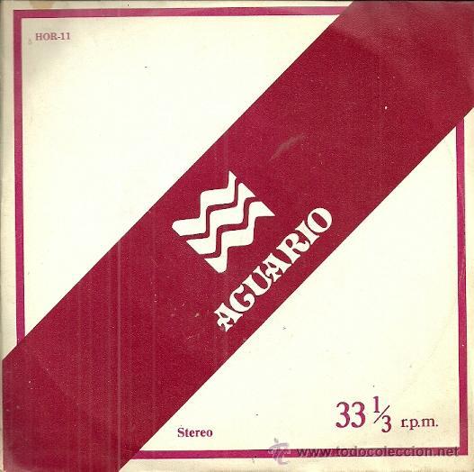 ALBERTO CLOSAS LP SELLO ZAFIRO AÑO 1978.NARRA EL HOROSCOPO DEL SIGNO ACUARIO (Música - Discos - Singles Vinilo - Bandas Sonoras y Actores)