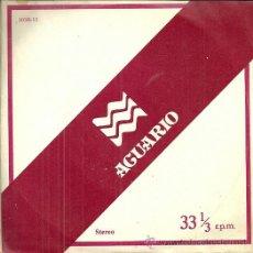 Discos de vinilo: ALBERTO CLOSAS LP SELLO ZAFIRO AÑO 1978.NARRA EL HOROSCOPO DEL SIGNO ACUARIO. Lote 41308888