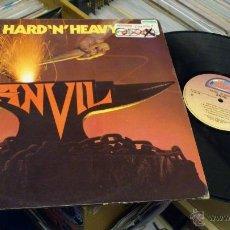Discos de vinilo: ANVIL HARD AND HEAVY LP DISCO DE VINILO HARD ROCK HEAVY METAL . Lote 41310623