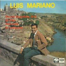 Discos de vinilo: LUIS MARIANO EP SELO LA VOZ DE SU AMO AÑO 1964. Lote 41312226