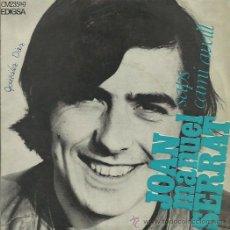 Discos de vinilo: JOAN MANUEL SERRAT EP SELLO EDIGSA AÑO 1969. Lote 41312242