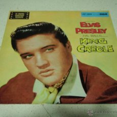 Discos de vinilo: ELVIS PRESLEY ( KING CREOLE ) GERMANY LP33 RCA RECORDS. Lote 41314159