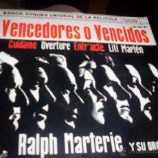 Discos de vinilo: VENCEDORES O VENCIDOS - BANDA SONORA. Lote 41318907