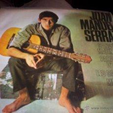 Discos de vinil: JOAN MANUEL SERRAT - CANCO DE MATINADA. Lote 41319046