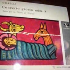 Discos de vinilo: CORELLI - CONCERTO GROSSO Nº8 - ARIOLA. Lote 41319458