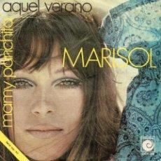 Discos de vinilo: MARISOL, SG, AQUEL VERANO + 1, AÑO 1970. Lote 41323232