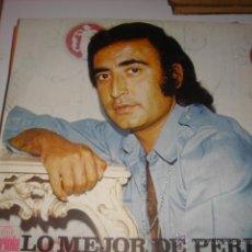 Discos de vinilo: LP. LO MEJOR DE PERET. UNA LAGRIMA/BORRIQUITO/QUE COSAS TIENE EL AMOR! ... ARIOLA. 1974. Lote 41324495