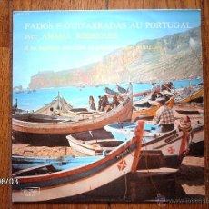 Discos de vinilo: FADOS E GUITARRADAS AU PORTUGAL - AMALIA RODRIGUES + ..... Lote 41333985