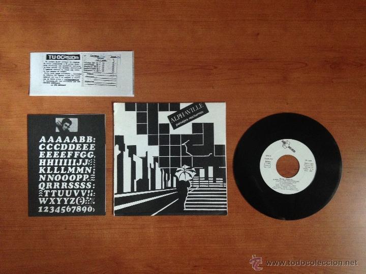 ALPHAVILLE - PAISAJES NOCTURNOS (1982 PRIMERA EDICIÓN) (MP3 ANUNCIO) (Música - Discos de Vinilo - EPs - Grupos Españoles de los 70 y 80)