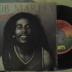 Discos de vinilo: BOB MARLEY AND THE WAILERS - REGGAE ON BROADWAY / GONN GET YOU. Lote 29746042