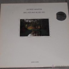 Discos de vinilo: GEORGE WINSTON - BALLADS AND BLUES 1972 - PIANO SOLOS - MADE IN GERMANY 1981 - T -. Lote 41343930