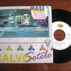 Discos de vinilo: TEST PRESSING. D.J.SPA. CALVO SOTELO. 1990. ENVIO CERTIFICADO GRATIS¡¡¡. Lote 34919148